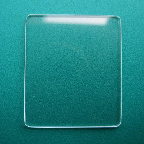 Generic Cartier Mineral Flat TV Watch Glass 26.00mm x 21.00mm - 0.9mm Thickness
