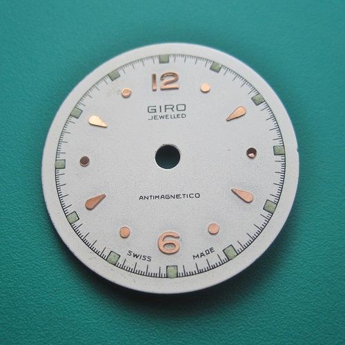 Giro Swiss Made Vintage Watch Dial New Old Stock