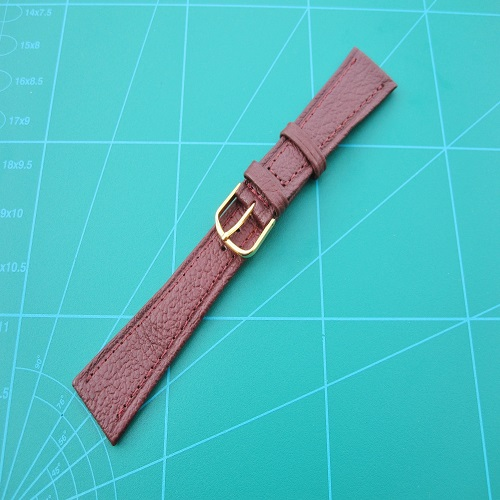 Maroon Genuine Leather Watch Straps 12mm up to 20mm