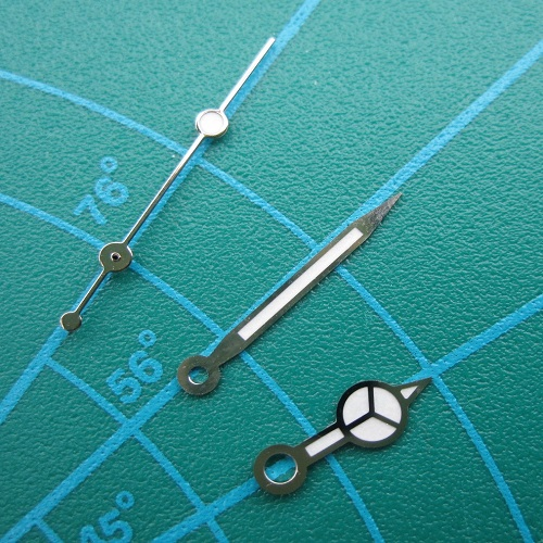 Rolex Submariner Replacement Watch Hands 3035/3135 Gold or Silver Finish